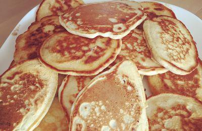 Pancakes (sans oeufs)