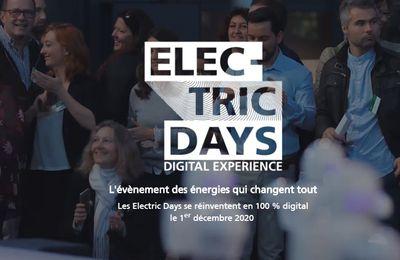 Marketing Event : Electric-Days, le 1er décembre 2020