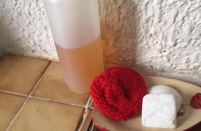 Minimalisme : liquide vaisselle à la cendre de bois