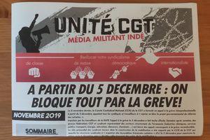 Le numéro 2 du journal Unité C.G.T est sorti !