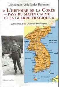 """Sortie du livre """"L'histoire de la Corée..."""" - A. Rahmani"""