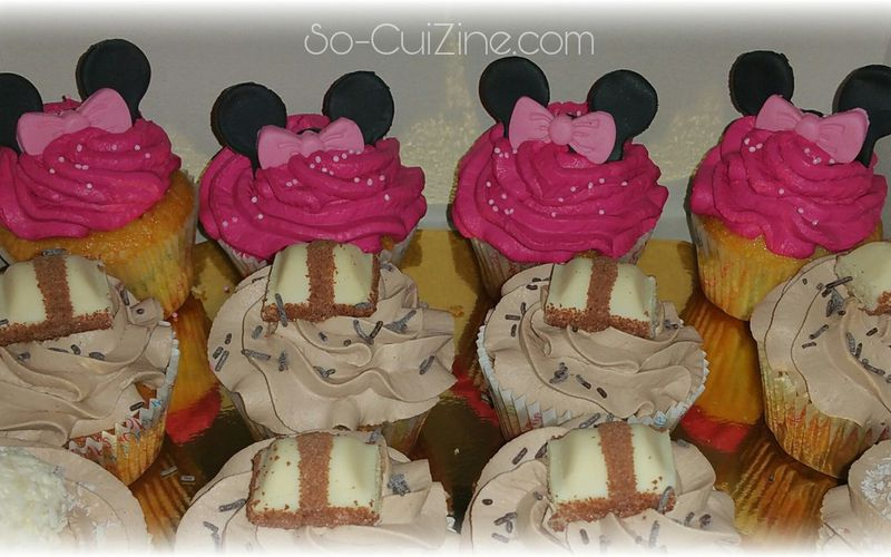 Comment faire des Cupcakes Minnie