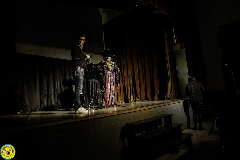 Saint André les Alpes - Soirée paëlla et spectacle avec Alain Burlesque