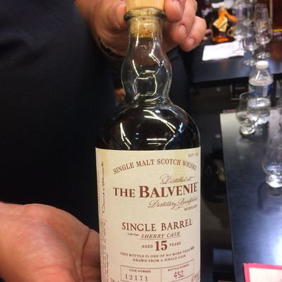 Balvenie 15Y Single Barrel Sherry Cask