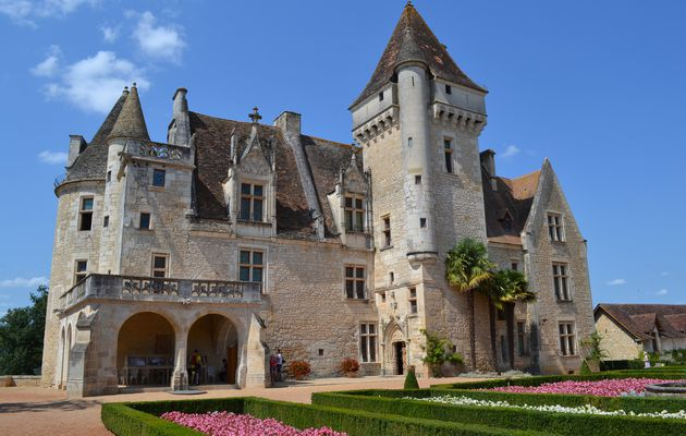 Le château des Milandes, demeure féérique de Joséphine Baker...