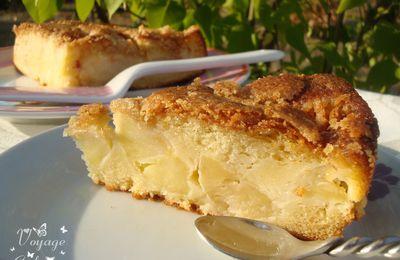 Gâteau aux pommes gourmand et croquant