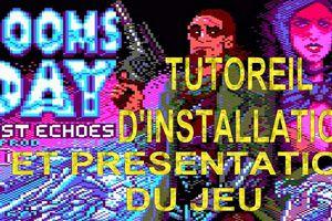 DOOMSDAY LOST ECHOES - Un nouveau  jeu de recherche textuel vient de sortir sur notre bon vieux Amstrad CPC !!!