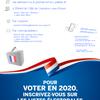 #277 - Élections municipales - Inscriptions sur les listes électorales