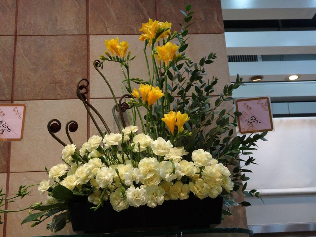 Marché aux fleurs de Hong Kong