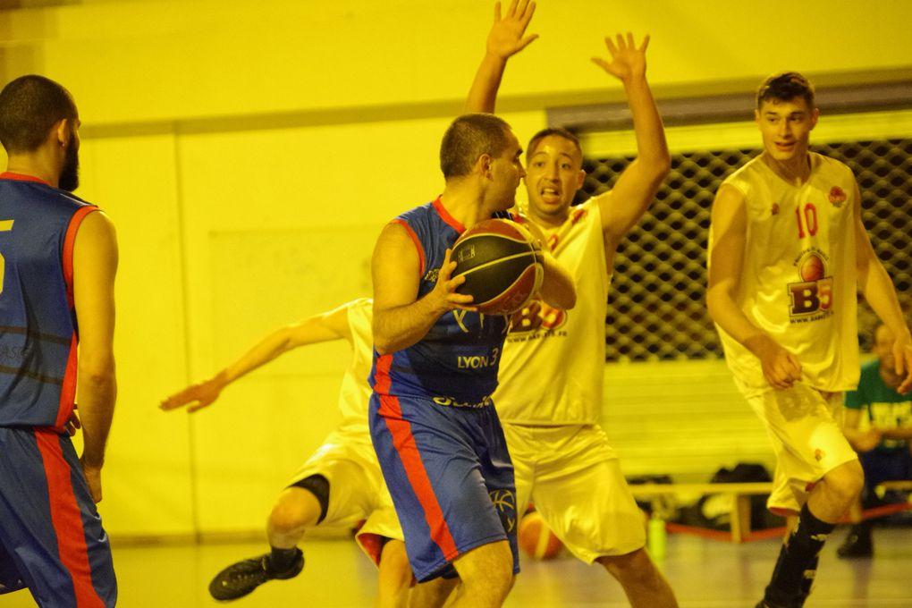 C'est une équipe senior du CLAMV Basket  conquérante qui attaque la saison d'une manière très convaincante.