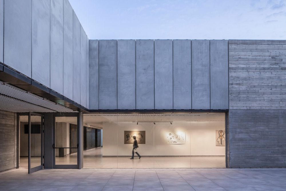 TEO CENTER FOR CULTURE, ART AND CONTENT IN HERZLIYA, ISRAËL BY A.LERMAN ARCHITECTS