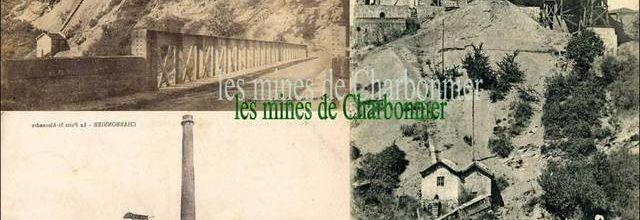 Les mines du bassin de Brassac:Charbonnier-les-mines