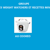 Recettes cookeo weight watchers et minceur le groupe |