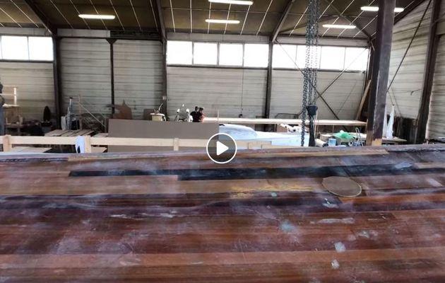 A La Rochelle, le Chantier Naval Hervé perpétue la tradition de la construction des bateaux en bois