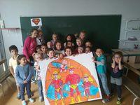 Centre Jean Zay: anniversaire de Ana Julia et puzzle géant