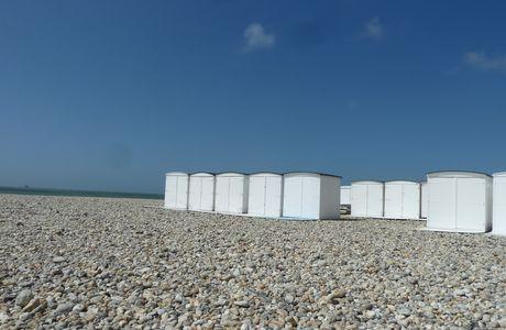 Le Havre et ses cabines de bain