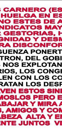 Casa de Uruguay en Madrid adhiere a la huelga general del 29 S
