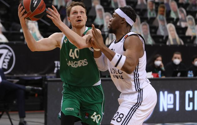 EuroLeague : l'Asvel s'incline sur le parquet de Zalgiris Kaunas