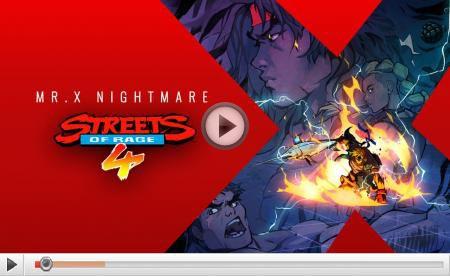 [ACTUALITE] Streets of Rage 4 - Le DLC Mr. X Nightmare sortira le 15 juillet
