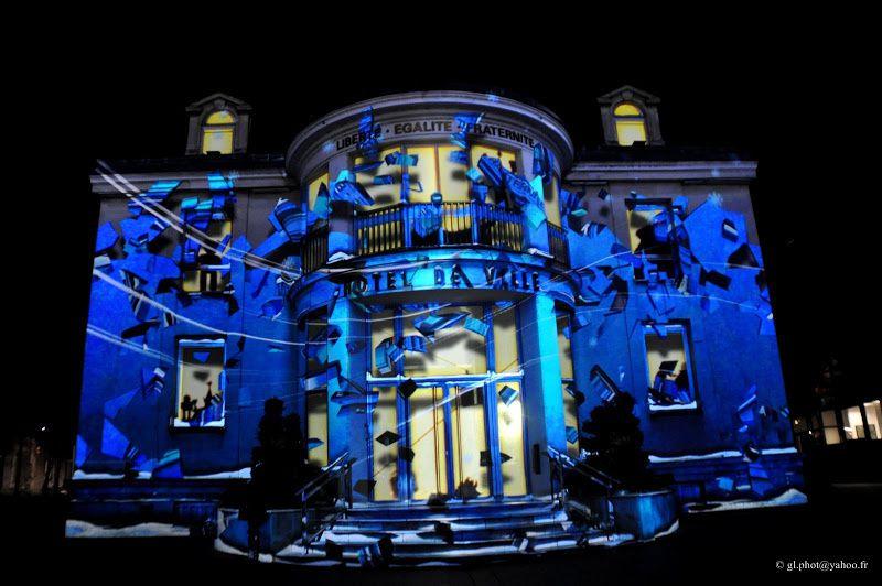 Enghien-les-Bains - Projections Monumentales 2015 - Hôtel de Ville