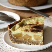 Flan pâtissier aux pommes caramélisées { sans gluten, sans lait, sans œufs } - Allergique Gourmand