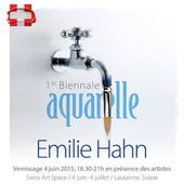 Aquarelle - Swiss Art Space - Emilie Hahn
