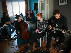 The girl who cried wolf @ Home concert (Schaerbeek) - 15/02/2015