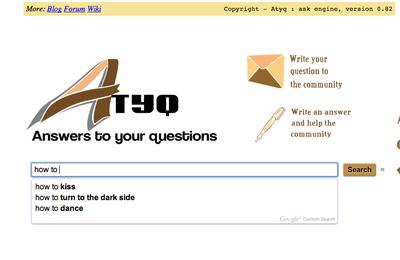 Atyq - un ask engine révolutionnaire