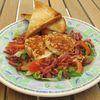 Salade de croquettes de fromage