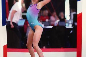 Championnat de France de Gymnastique à Auxerre - Lana Mouchon, Résultat.