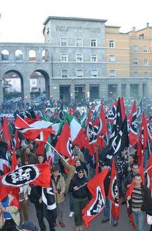 ELECTIONS ITALIENNES : LA CASAPOUND NE RÉUSSIT PAS SA PERCÉE
