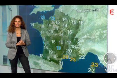 [2012 10 12] MYRIAM SEURAT - FRANCE 2 - LA METEO @07H25