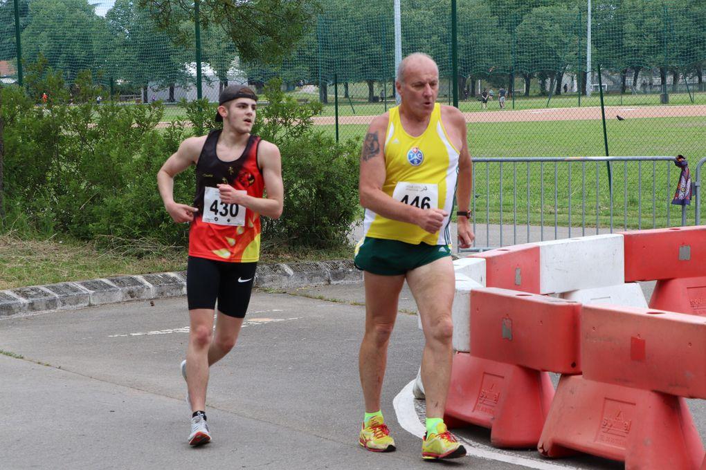 Les championnats AuRa de marche athlétique 10 et 20 km ont eu lieu au Parc de Parilly