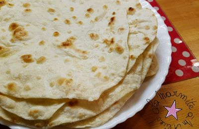 ☆ Tortillas de Blé ☆