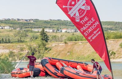 Calgary Rafting down the Bow River to next summer, Here's How to rafting safely.