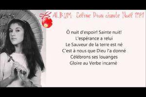 Céline Dion - Douce Nuit, Sainte Nuit (1981)