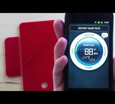 l'application de iphone Stress Check by Azumio en français IPhone -°- Android