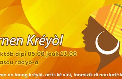 Lajournen Kréyòl ké Guyane la 1ère !