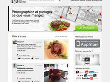Lancement officiel de la version web de Food Reporter
