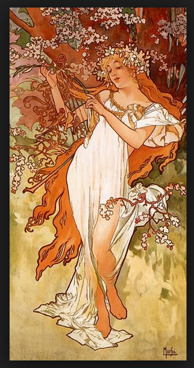 Mucha - Renoir - Arcimboldo - Mignon- Sisley