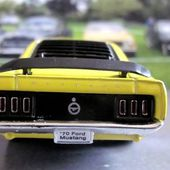 FORD MUSTANG BOSS 302 1970 PULL BACK WELLY 1/39 - car-collector.net