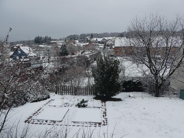 Un peu de neige ...