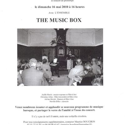 Concert au Temple de Ste-Hermine