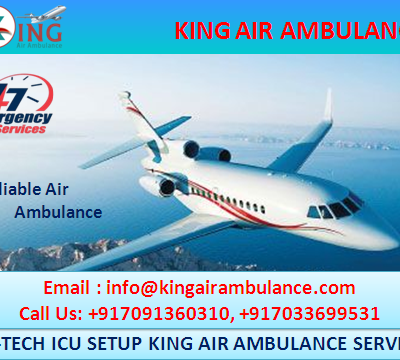 King Air Ambulance in Patna-ICU CCU System Based Patient Transportation