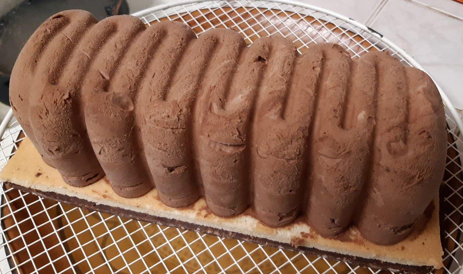 Bûche Chocolat - Clémentines