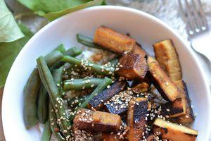 Tofu mariné et grillé #végétal