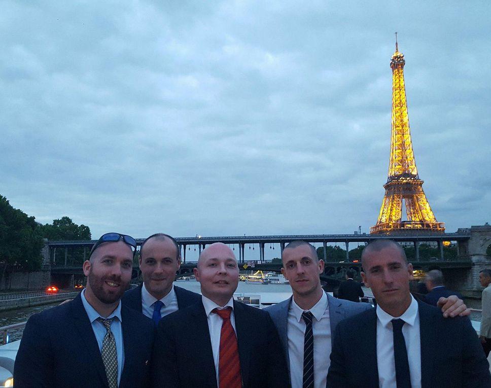 Grand succès de la croisière de Rivarol sur la Seine