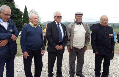Commémoration 12 mai 2017 à l'ancien camp de Saint Maurice L'Ardoise ( 30 )