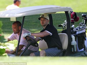 Photos: Une partie de golf (27/06/14)
