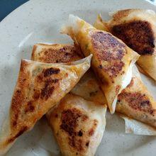 Samoussas au poulet aux épices douces